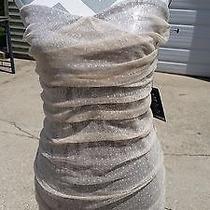 Nwt Womens Strapless Dress Express Sz 12 128 With Tags Wedding Prom Photo