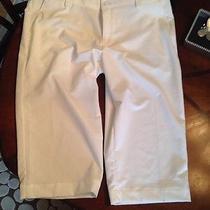 Nwt Womens White Under Armoir Golf Capri Pants. Heat Gear Sz 14 69 Photo