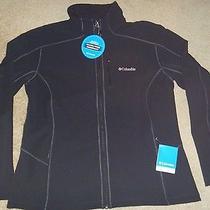 Nwt Womens Xl Columbia Simply Warm Softshell Full Zip Jacket Black 120 Free Shp Photo