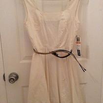 Nwt Xoxo White Dress Size 7/8 Photo