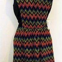 Nwt Xsmall Kensie Dress - Multi Color Chervron Stripes - 99 Macy's  Photo