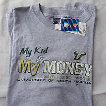 Nwt Xxl My Kid & Money Go to University of South Florida Grey Short Sleeve Tee Photo