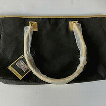 Nwt Yankee Candle Black Tote Bag Gold Trim Handles Factory Wrapped  No Defects Photo