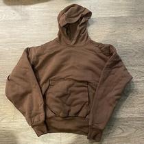 Nwt Yeezy Gap Hoodie - Brown Size Largein Hand Photo