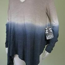 Nwt Yfb Young Fabulous & Broke Size S Sharkbite Hem Ombre Tunic Top/sweater Photo