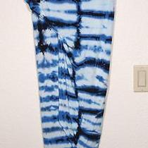 Nwt Young Fabulous & Broke Blue Tie Dye 'Sassy' Skirt Size Medium Photo