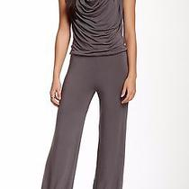 Nwt Young Fabulous & Broke Ridley Jumpsuit (L) Gray Draped Front 220 Sold Out Photo