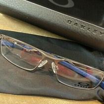 Nwt Youth Oakley Glasses Pewter Ready for Prescription Eye Size 47 Bridge 14 Photo