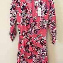 Nwt Yumi Kim Liz Romper Pink Floral Small S Photo
