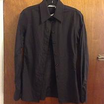 Nwt Yves Saint Laurent Paris Black Shirt Size 34 Photo