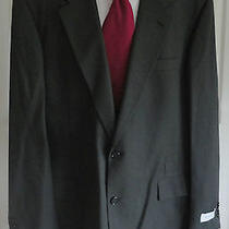Nwt Yves Saint Laurent Solid Green 100% Wool 2b Sport Coat Jacket Free Tie 46l  Photo