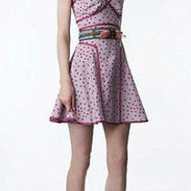 Nwt Zac Posen for Target Pink Purple Polka Dot Vintage Look Dress Size 3 Xs Cute Photo