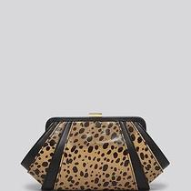 Nwt Zac Zac Posen Clutch - Cheetah Print  Photo