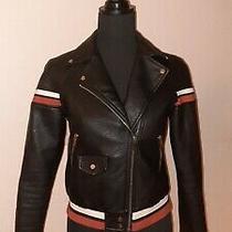 Nwt Zara Black Leather Jacket Size Xs Photo