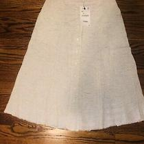 Nwt Zara Midi Beige Skirt Button Up Size Xs Retails 39.95 Revolve Photo