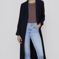 Nwt Zara Woman Zw Premium Skinny Ripped Detail Jeans Size 26 Us2 Light Blue Photo