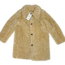 Nwt Zara Womens Faux Fur Coat Jacket Natural Tan Beige Size Xs Photo