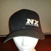 Nx Nitrous Express Baseball Cap Flexfit Black Small to Medium Hat Racing Photo