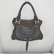 Ny18 Chloe Mercy Handbag Tote Gold Hardware Photo