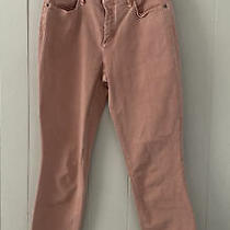 Nydj Ami Skinny Jegging Legging Jeans Blush Pink Size 2 Frayed Hem Euc Photo