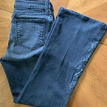 Nydj Not Your Daughter's Jeans Bootcut Cut Dark Charcoal Jeans Size 6