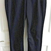 Nydj Not Your Daughters Jeans Dark Wash Blue Legging Jeans Sz 6 Photo