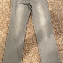 Nydj Not Your Daughters Jeans Sheri Slim Size 4 Long Blue Meas. 28x30 Lift Tuck Photo