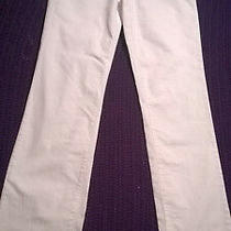 Nydj Not Your Daughters Jeans White Straight Leg Lift and Tuck Flattering Vgc Photo