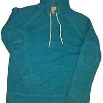 o'hanlon Mills Pullover Sweater Hoodie Blue Confetti Knit Urban Outfitters Sz L Photo