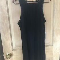 Oneill Nwt Large Womens Addison Cover Up Dress Black Summer Dress Free Ship Photo