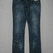 Oa03412 Arden B Slim Skinny Womens Jeans Sz6 Dark Photo