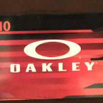 Oakley 10 Gift Card Expires 12/31/15 Photo