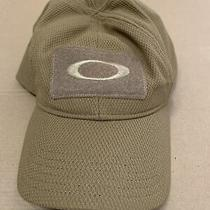 Oakley 911444a Si Standard Issue S/m Tactical Morale Patch Men's Coyote Tan Cap Photo