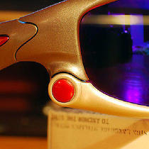 Oakley Authentic Jawbone Racing / Split /wind Jacket Anodized Red Thru Bolts Kit Photo