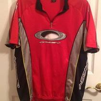 Oakley Biking Jersey Athletic Mountain Bike Cycling Mens Size Xxl Red Photo