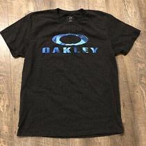 Oakley Blue Camo O Tee Photo