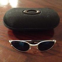 Oakley C Wire 1.0 Matte Silver / Ice Iridium With Spring Hinge and Hard Vault Photo