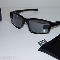 Oakley Chainlink Sunglasses Black W/black Iridium Photo