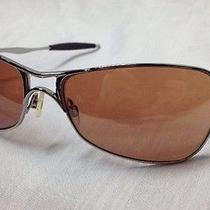 Oakley Crosshair 1.0 Sunglasses  Chrome Frame  Rose Clear Gradient Photo