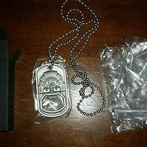 Oakley Dog Tag Bottle Opener  Necklace Super Rare in Box Photo