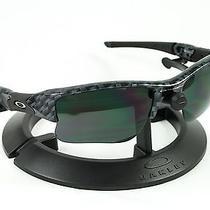 Oakley Flak Jacket Xlj Carbon Fiber Frame & Revant Black Polarized Custom Lenses Photo