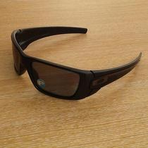 Oakley Fuel Cell Matte Black Frame With Grey Polarized Lens Photo