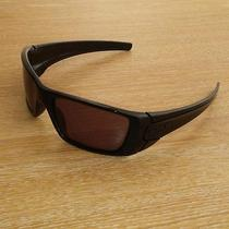 Oakley Fuel Cell Polished Black Frame With Warm Grey Lens Photo