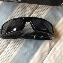 Oakley Gascan Sunglasses Polished Black With Grey Lenses 03-471 Brand New in Box Photo