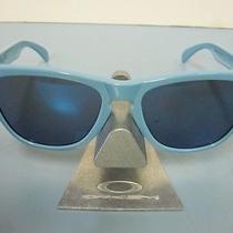 Oakley Golf Frogskin Sunglass Blue/ice Iridium New in Oakley Bagoo9013-36 Photo