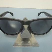Oakley Golf Frogskin Sunglass Matte Carbon/black Iridium New in Oakley Bag Photo