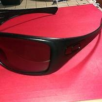 Oakley Hijinx Polarized Matt Black & Grey Sports & Cyling Sunglasses Photo