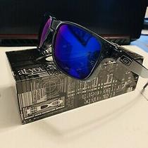 Oakley Holbrook 0009102-47 Polarized Lens 57mm Sunglasses - Blue Photo