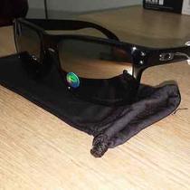 Oakley Holbrook Black Ink Frame With Chrome Iridium Polarized Lens Photo