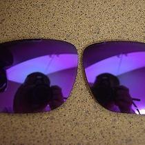 Oakley Holbrook Replacement Lens Violet Iridium Polarized Photo